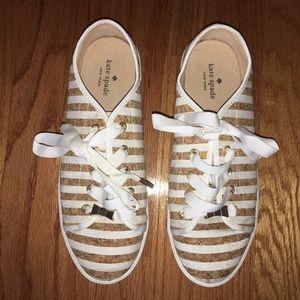 Kate Spade Striped Sneakers